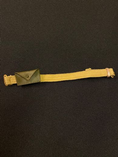 VINTAGE ACTION MAN - 60's Belt with First Aid Pouch